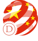 image drapeau chinois stylisé commercial