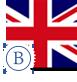 image drapeau anglais stylisé intermédiaire