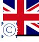 image drapeau anglais stylisé confirmé